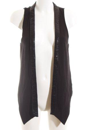 Bershka Anzugweste schwarz Elegant