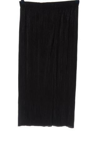 Bershka Baggy broek zwart casual uitstraling