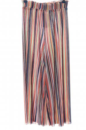 Bershka Baggy Pants Streifenmuster Casual-Look