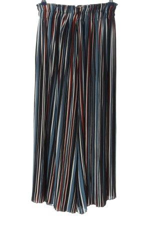 Bershka Luźne spodnie Na całej powierzchni Elegancki