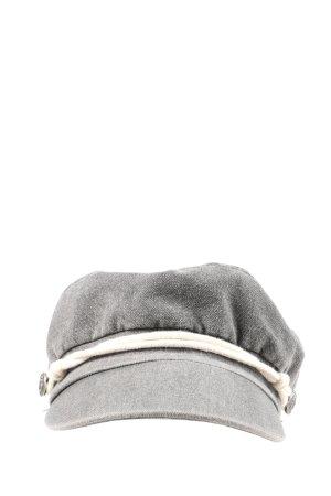Bershka Cappello da panettiere grigio chiaro stile casual
