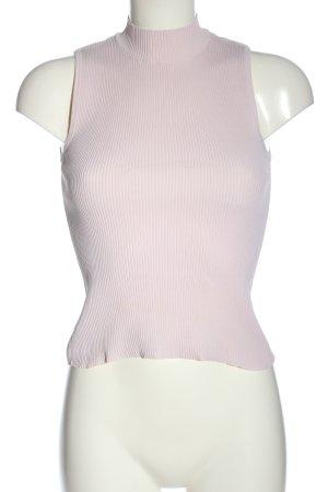 Bershka Basic Top pink Casual-Look