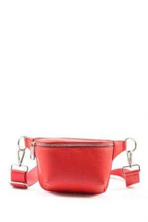 Bershka Marsupio rosso stile casual