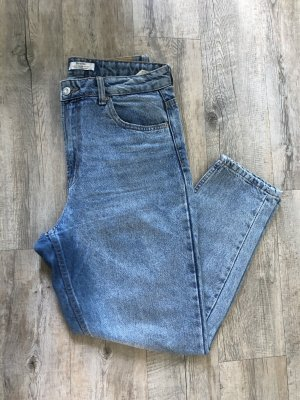 Bershka blaue Mom Jeans