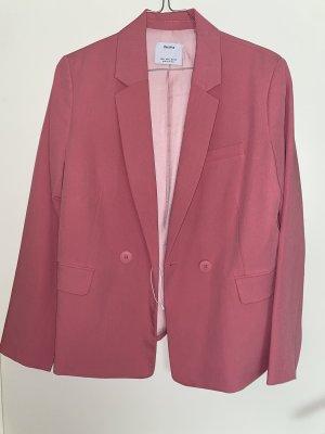 Bershka Boyfriend blazer roségoud-roze
