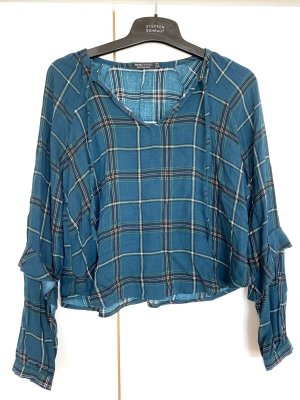 Bershka Checked Blouse multicolored