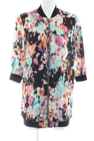 Bershka Blouse Jacket abstract pattern casual look