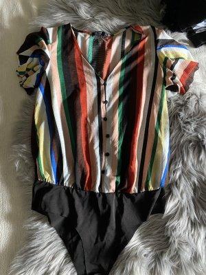 Bershka Bodysuit Blouse multicolored