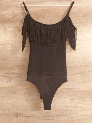 Bershka Bodysuit Blouse black