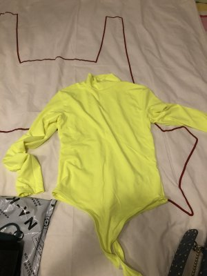 Bershka Body giallo neon