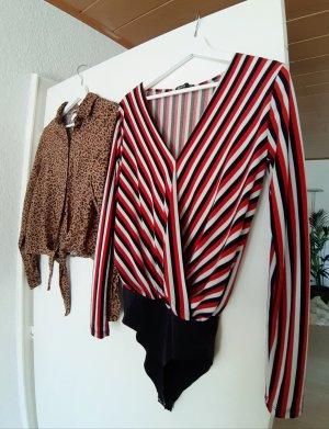 Bershka Body und H&M Bluse