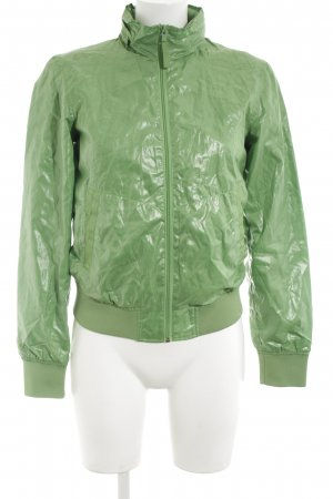 Bershka Bomberjacke grün extravaganter Stil