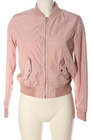 Bershka Bomberjacke pink Casual-Look