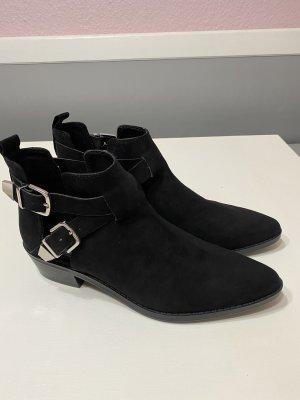 Bershka Cut out boots zwart
