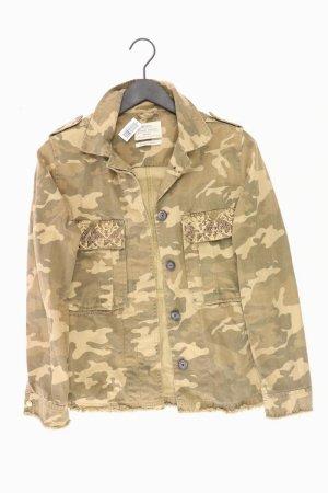 Bershka Camo-Jacke Größe M braun aus Baumwolle