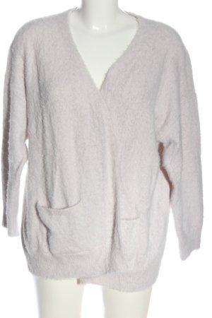 Bershka Kardigan biały W stylu casual