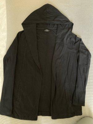 Bershka Smanicato con cappuccio nero