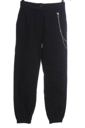 Bershka Cargo Pants black casual look