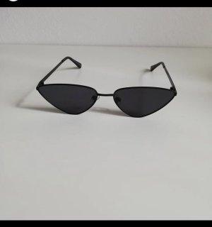 Bershka Gafas de sol ovaladas negro