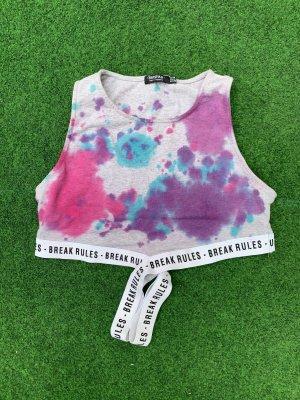 Bershka Batik Shirt multicolored