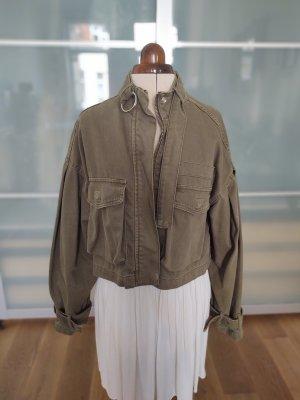 *Bershka* Cropped Field Jacket neuwertig