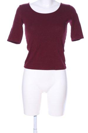 Bershka Cropped Shirt pink Casual-Look
