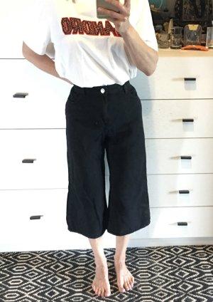 Bershka Culotte Jeans High waist schwarz used Mom mum Jeans 36 S