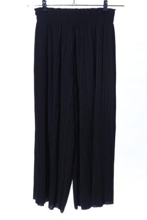 Bershka Pantalone culotte nero stile professionale