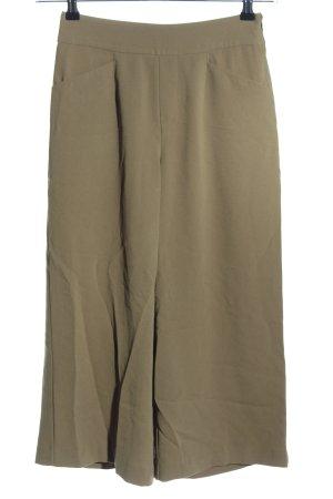 Bershka Culottes khaki Business-Look