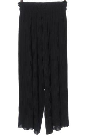 Bershka Pantalone culotte nero stile casual