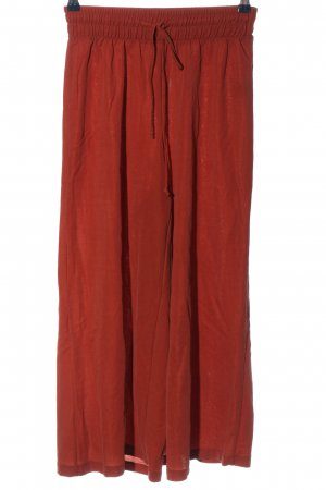 Bershka Culottes red casual look