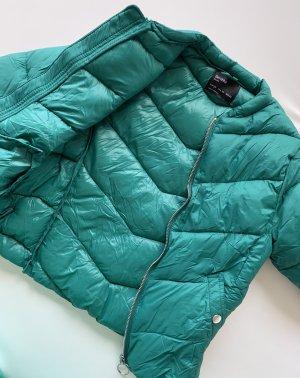 Bershka Damen Jacke Grün Gr.XS