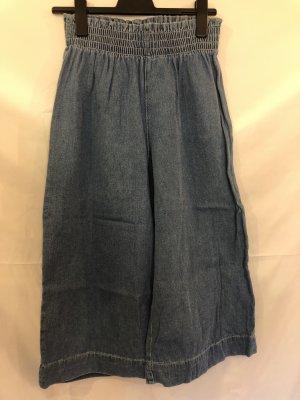 Bershka Denim Hosenrock Blau M Jeans