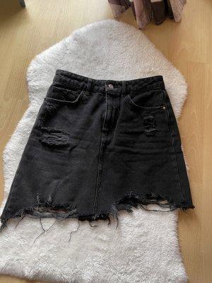 Bershka Denim Jeansrock high waist
