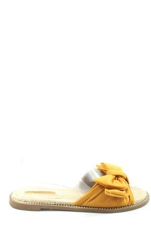 Bershka Espadrille jaune primevère style décontracté