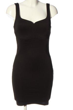 Bershka Etuikleid schwarz Elegant