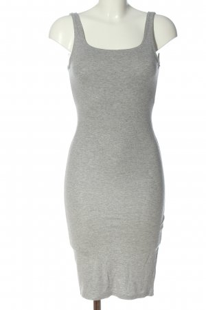 Bershka Sheath Dress light grey flecked casual look