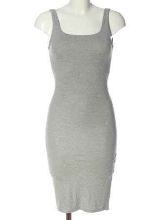 Bershka Sukienka etui jasnoszary Melanżowy W stylu casual