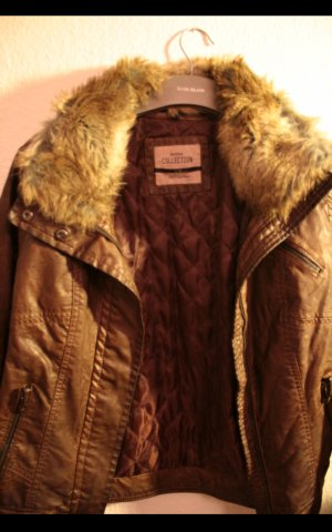 Bershka Naval Jacket bronze-colored-brown