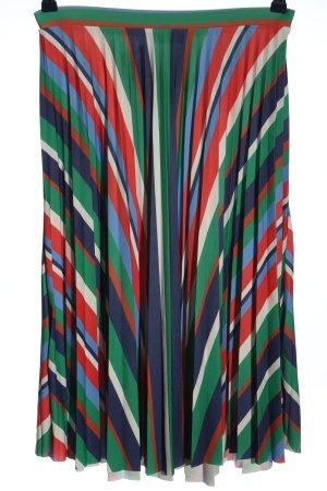 Bershka Plisowana spódnica Wzór w paski W stylu casual