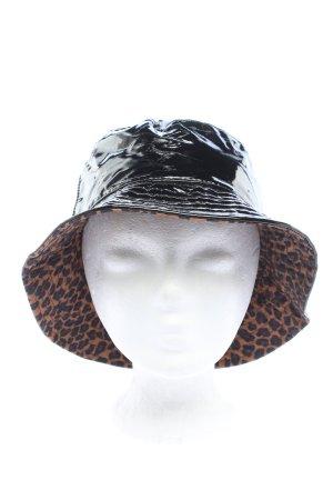 Bershka Sombrero de cubo negro look casual