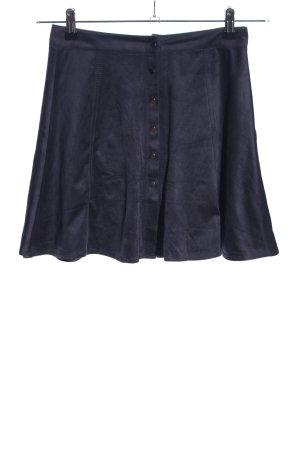 Bershka Flared Skirt black casual look