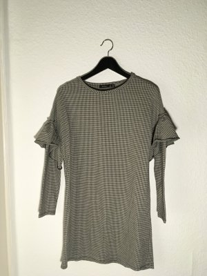BERSHKA Gr. S Kleid schwarz/weiss