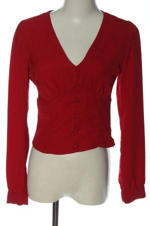 Bershka Shirt Blouse red casual look