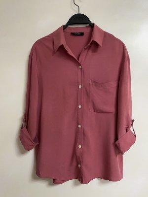 Bershka Hemd Bluse rosa XS 34 Neu