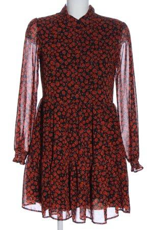 Bershka Robe chemise imprimé allover élégant