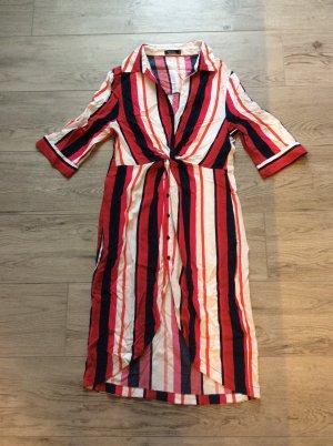 Bershka Vestido tipo blusón multicolor