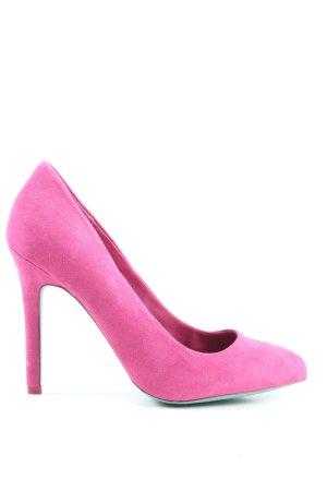 Bershka High Heels pink-türkis Elegant