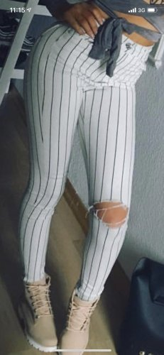 Bershka high rise Hose