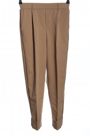 Bershka High-Waist Hose braun Business-Look